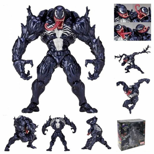6 Venom Revoltech Marvel Spider Man Pvc Action Figure Toys