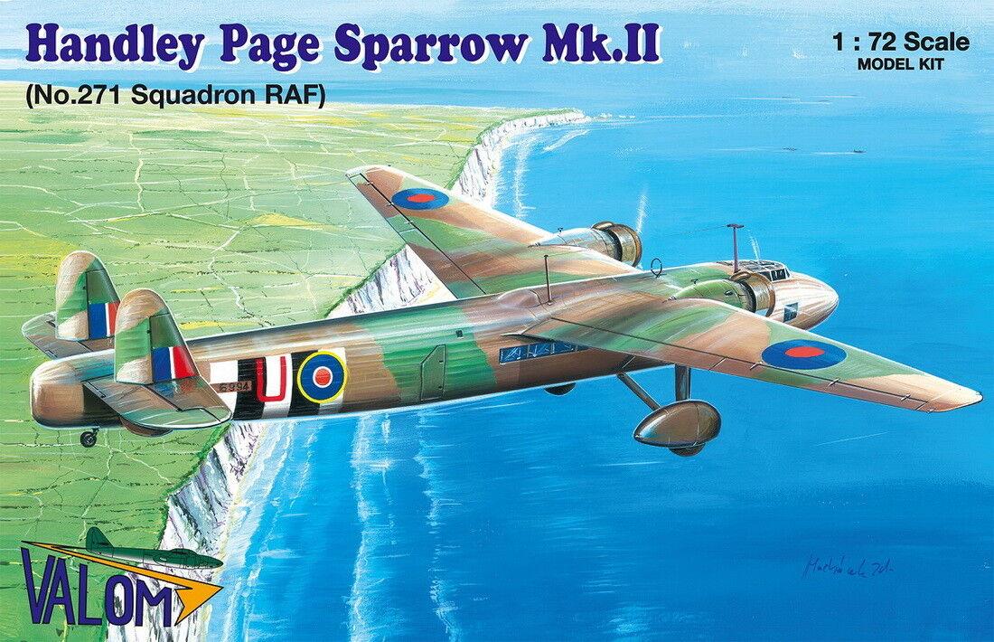 precios mas baratos Valom 1 72 Handley-Page Sparrow Mk.ii (No.271 Squadron Squadron Squadron Raf )  72117  El nuevo outlet de marcas online.