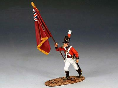 "KING&COUNTRY NAPOLEONIC ""COLDSTREM GUARD FLAGBEARER ADVANCING "" NA194  MILITARY"