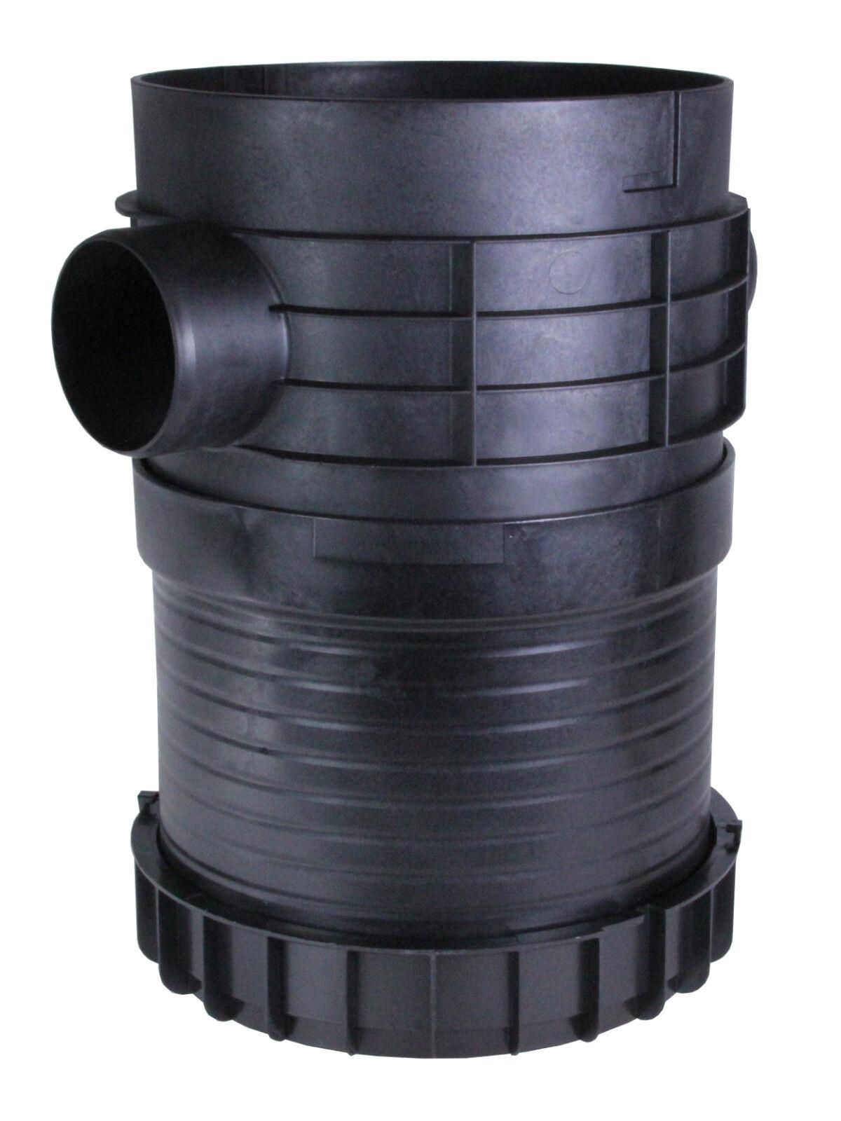 Plurafit abwassersammel-, de distribución y cámara de inspección + plurafit capuchón
