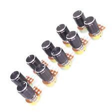 Us Stock 10 Units 50k B50k Ohm Linear Taper Rotary Potentiometer Pot Black Knob