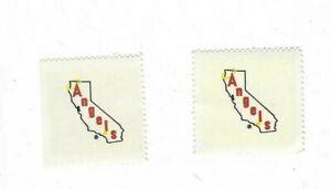 1983-FLEER-BASEBALL-2-STAMPS-CALIFORNIA-ANGELS