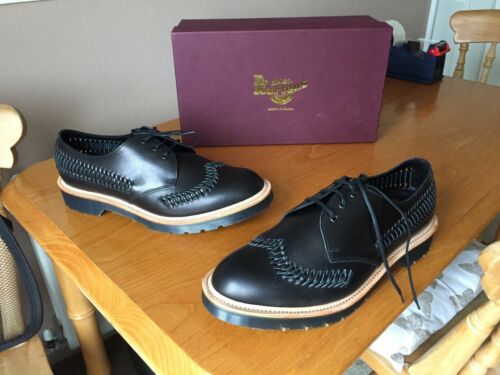 In Black Made Dr Martens Beaumont 45 Weaver Shoes Leather Uk Eu England 10 qxOSfxnB