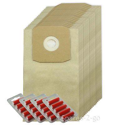 20 x DAEWOO Sacchetti per aspirapolvere Hoover Sacchetto RC300 RC310 RC320 rc32opf FRESCO