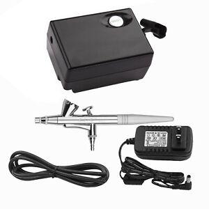 C... Kit De Maquillaje Para Aerografo Beauty Special Air Compressor Black Suit