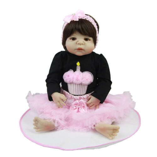 Handmade Baby Doll Outfit Cake Romper Dress for 22/'/'-23/'/' Reborn Girl Doll