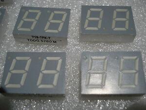 LED-Display Telefunken TDDG 5760 718-TFK-7 - 13mm 7-Segment 2fach (1 Stück) - Deutschland - LED-Display Telefunken TDDG 5760 718-TFK-7 - 13mm 7-Segment 2fach (1 Stück) - Deutschland