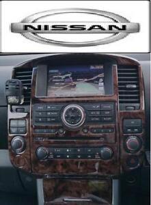2008 2009 2010 2011 2012 Interior Wood Dash Trim Kit Set For Nissan Pathfinder Ebay