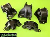 Honda Civic 92-95 Without Abs Engine Motor Mount Set At 5pcs