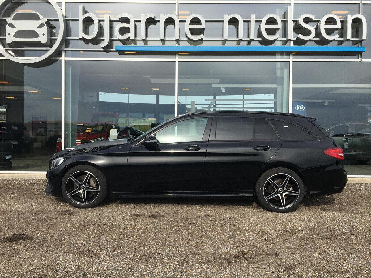 Mercedes C250 2,0 AMG Line stc. aut. - billede 3