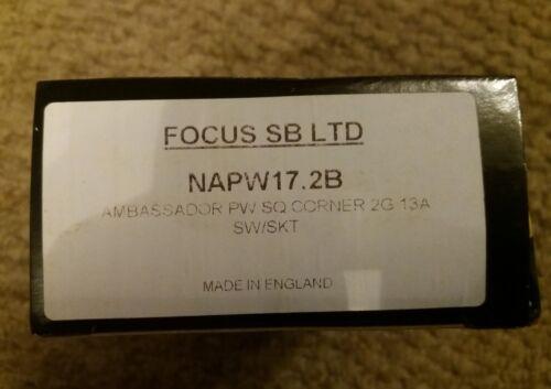 Focus SB PRIMED BLANC NOIR inserts wandworth ambassadeur gamme Forbes /& Lomax