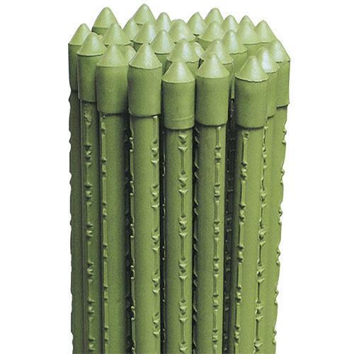 25 Pz Mt 1,8 Cf Cannetta Tutore In Metallo Plasticato  Ø 16 Mm - H