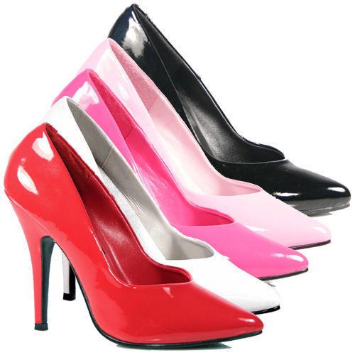 Seduce-420 sexy Pleaser Damen High Heels Lack Pumps auch Übergrössen Gr 35-47   | Schönes Design