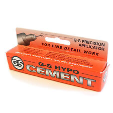 Jewellers G-S Hypo Cement Clear glue for watch glass beads pearls findings HA11