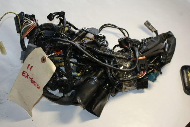 2009 kawasaki ninja 650r main engine wiring harness motor wire loom Kawasaki Ninja 250