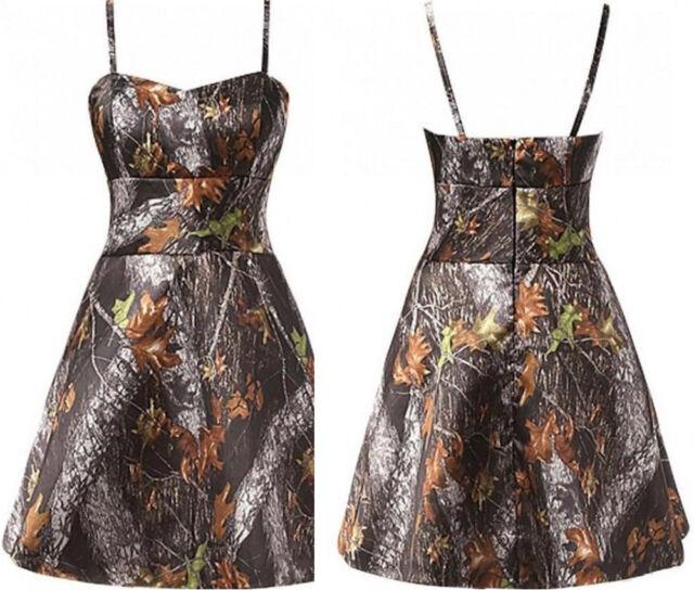 Camo Prom Dresses