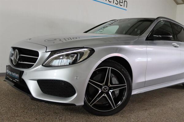 Mercedes C250 d 2,2 AMG Line stc. aut. 4Matic billede 3