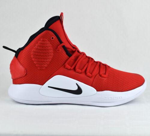 Nike Hyperdunk X TB 10 Herren Rot Basketball Schuhe Neu Red White AR0467-600