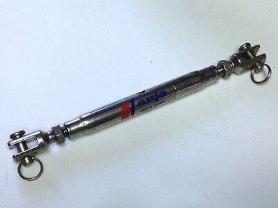 ∑ Wantenspanner 100 mm M8 ANJA Made in Norway Edelstahl rostfrei Gabel-Gabel