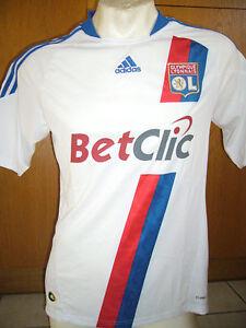 Adidas-olympique-lyon-camiseta-Camisa-tamano-L-xl-original-france-nuevo