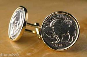 Authentic-Buffalo-Nickel-Cuff-Links
