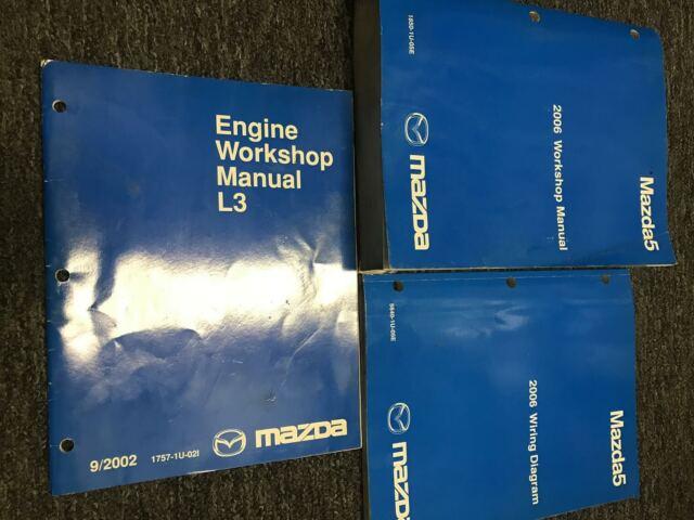 2006 Mazda5 Mazda 5 Service Repair Workshop Shop Manual