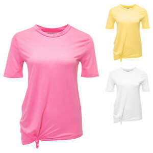Pieces Damen T-Shirt mit Print Casual Oversize Look Damenshirt Kurzarmshirt SALE