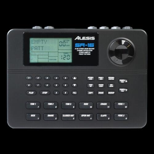 Alesis SR16 16-Bit Drum Machine with Natural Drum Sounds
