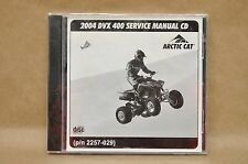2004 Arctic Cat DVX 400 ATV 4 Wheeler Shop Repair Service Manual CD 2257-029