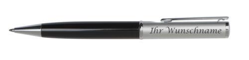 Eleganter Drehkugelschreiber aus Metall mit Gravur