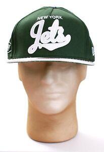 e13f1f6cbb6 New Era 9Fifty NFL New York NY Jets Green Adjustable Hat Cap Adult S ...