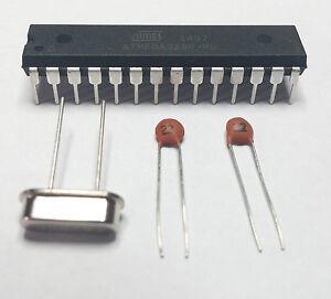 Atmega328P-PU-Arduino-Bootloader-16MHZ-Crystal-22pF-Capacitors-Atmega328p