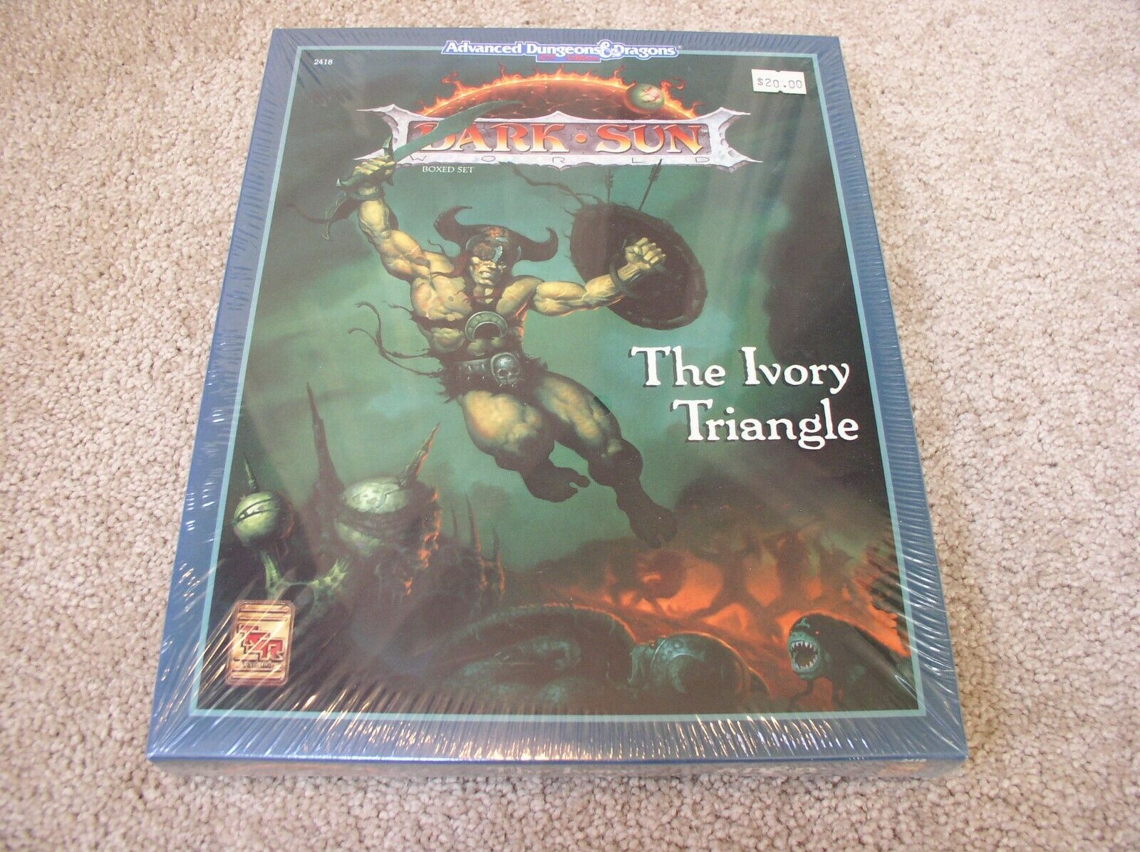 AD&D Dark Sun The Ivory Triangle boxed set - sealed