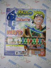 Anime Comic Manga Naruto Becharinco Gashapon Toy Machine Paper Card Bandai Japan