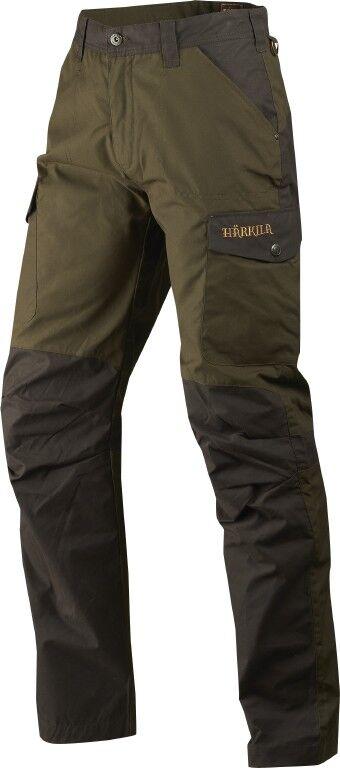 novedad  härkila caza pantalones obvias-Willow verde Shadow marrón - 110114663