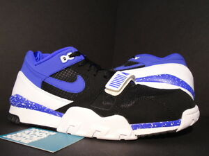 Nike Air TRAINER II 2 PREMIUM QS 1 BLACK PERSIAN VIOLET PURPLE WHITE ... 05aef9147