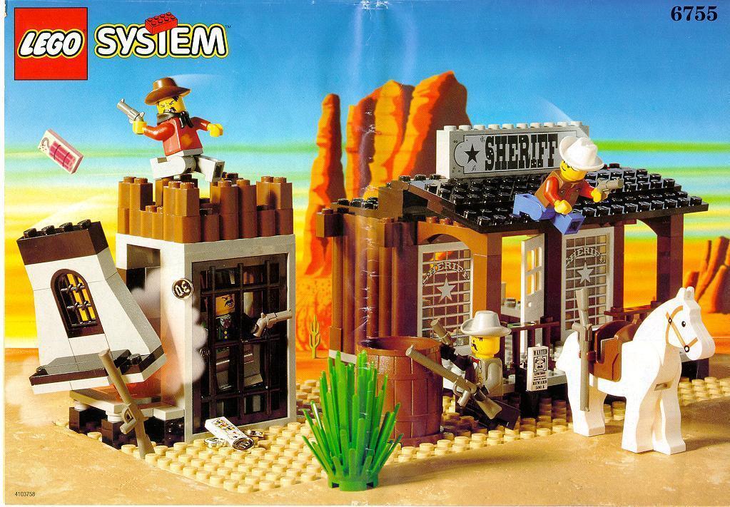 Lego 6755   Sheriff's Lock-up Lock-up Lock-up Visita il mio Negozio 527b72
