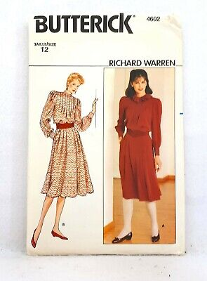 New Butterick B5865 Retro /'56 Doll/'s Clothes Dress Cape Jacket Blouse Overalls