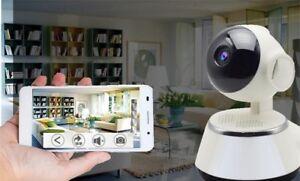 Camera IP WiFI 720P Smartphone Surveillance Infrarouge Detecteur Mouvement Alert