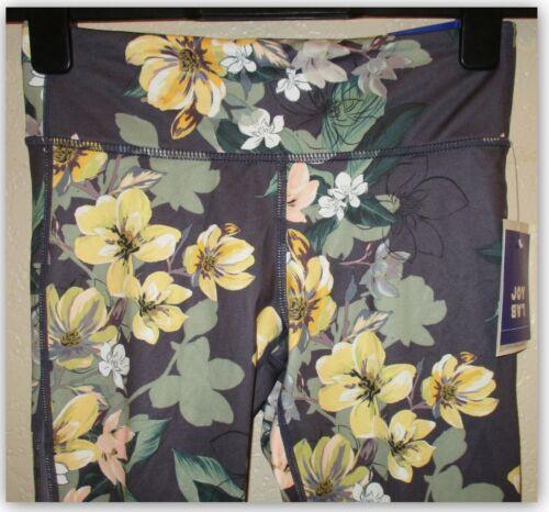 JoyLab womens Printed Performance fabric midrise 7//8 length legging key pocket
