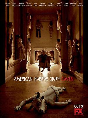 "TV Show Silk Fabric Poster 11/""x15/"" AMERICAN HORROR STORY ASYLUM"