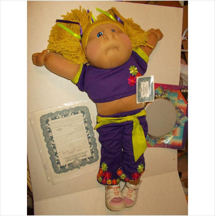 Muñeca Suave Esculpidas Cabbage Patch  Super 70S    1999 serie recuerdos favoritos   precios bajos