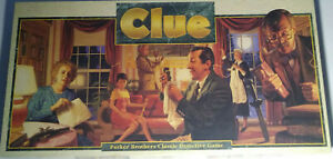 Vintage-034-Clue-034-Game-by-Parker-Brothers-Classic-1992-Edition-100-Complete