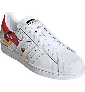 Absolutamente Reducción mientras tanto  Adidas Disney Mickey Mouse Superstar Sneaker 2020 Size 5.5 Men NEW | eBay