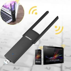 Wireless-USB-3-0-COMFAST-1200Mbps-Long-Range-Dual-Band-5GHz-WiFi-Adapter-Antenna