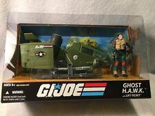 GI Joe 25th Anniversary GHOST HAWK w/ LIFT TICKET Sky H.A.W.K.  NEW MIB