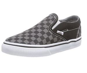 f04a84b4dea2e6 Inf Toddler VANS OFF THE WALL Slip On Shoes Black Pewter ...