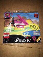 1999 Classic Lego Bag Set #3 Ronald McDonald Happy Meal Plane Boat 14 Pcs Sealed