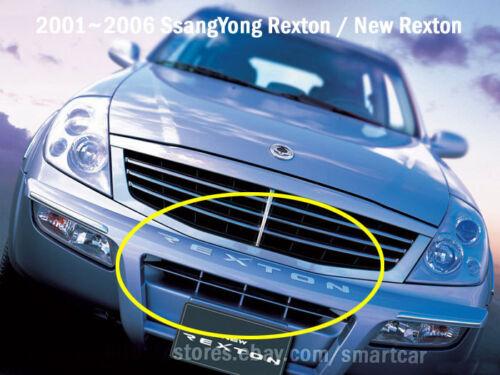 2001 2002 2003 2004 2005 2006 SsangYong Rexton OEM Bumper Backdoor emblem set