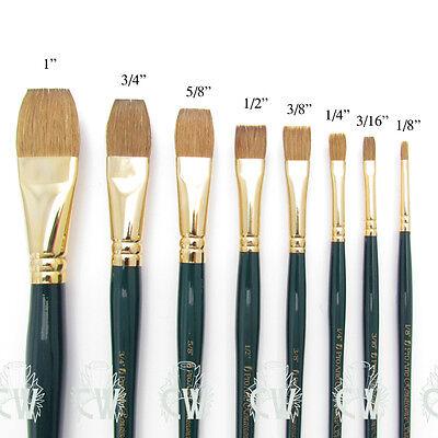 Pro Arte Artists Renaissance Sable FLAT Brushes for Artist Watercolour Painting